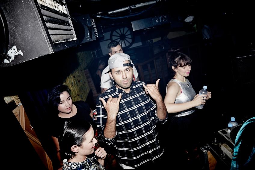 Shantan Wantan Ichiban, Nina Las Vegas, Bad Ezzy, Goodgod Small Club, Hoops